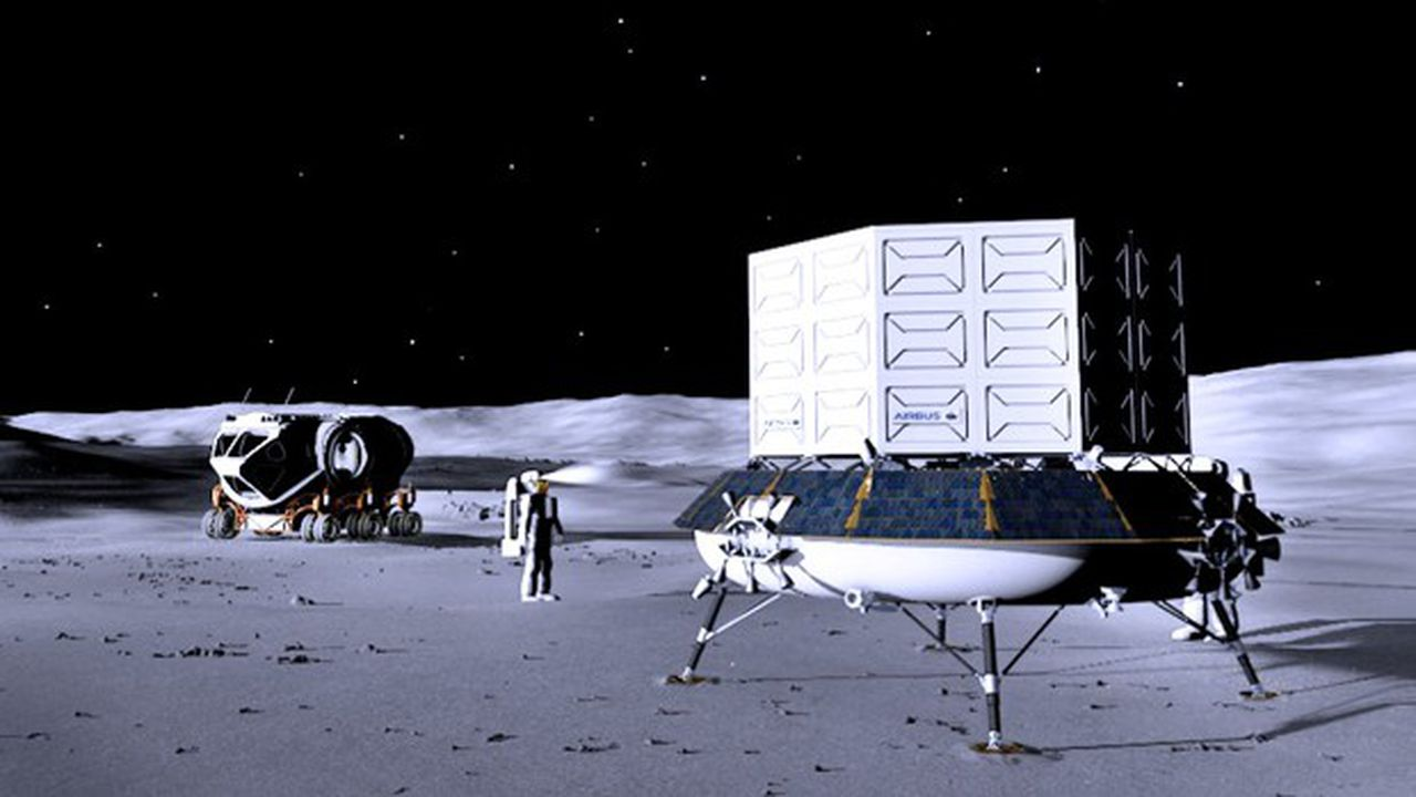 La station lunaire Gateway, à construire progressivement dès 2023, servira de laboratoire et de point d'étape pour les astronautes en route vers la Lune.