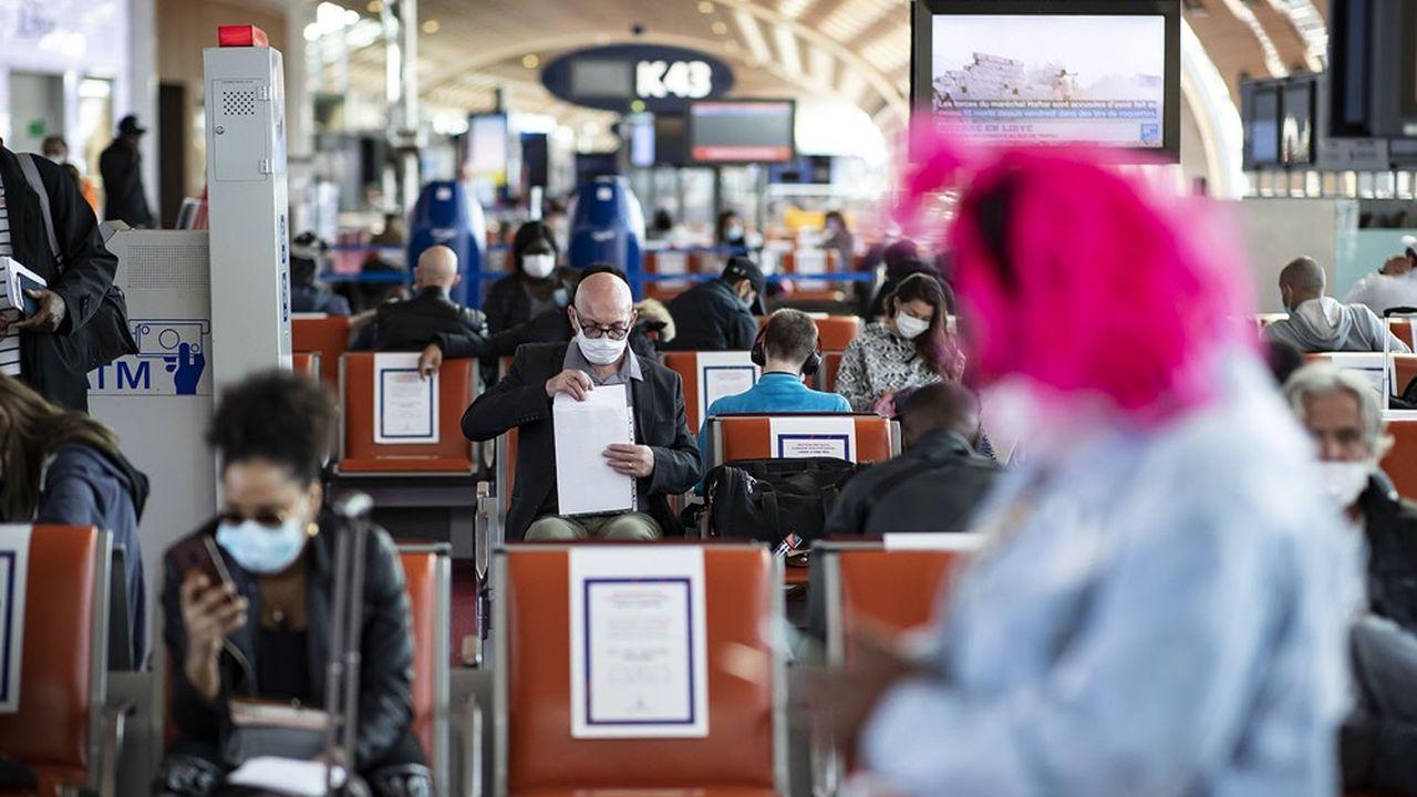 Les passagers des aéroports français n'ont pas accès aux tests express.