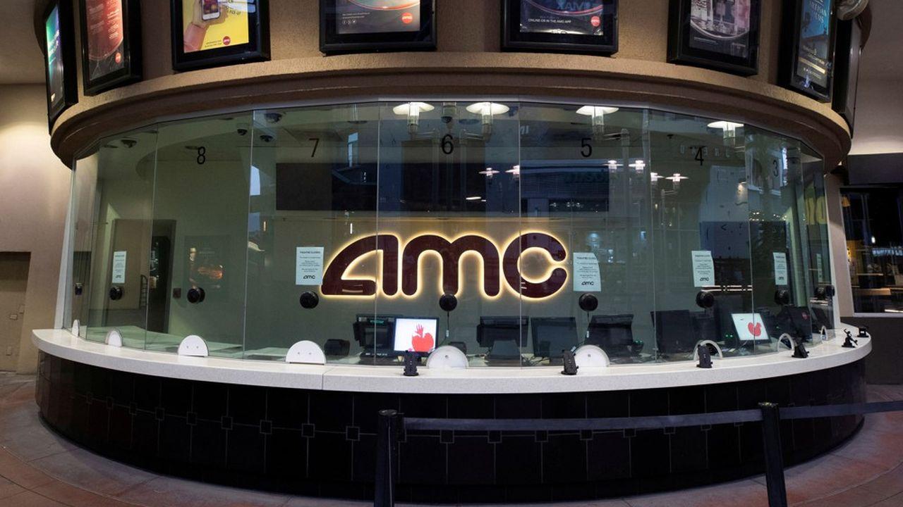 La capitalisation boursière d'AMC est aujourd'hui inférieure à 350millions de dollars.