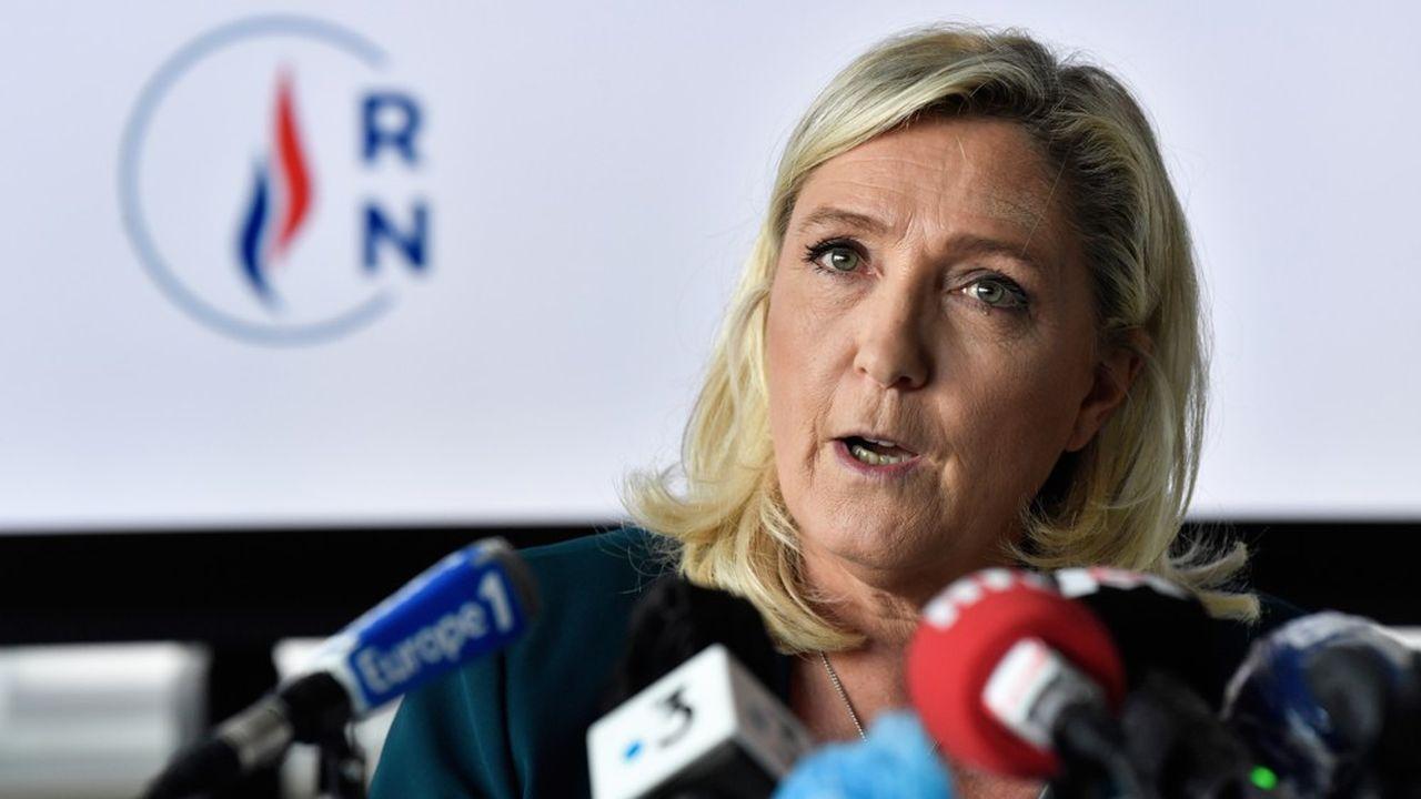 Pour Marine Le Pen, «les restrictions, c'est quand on a tout raté».