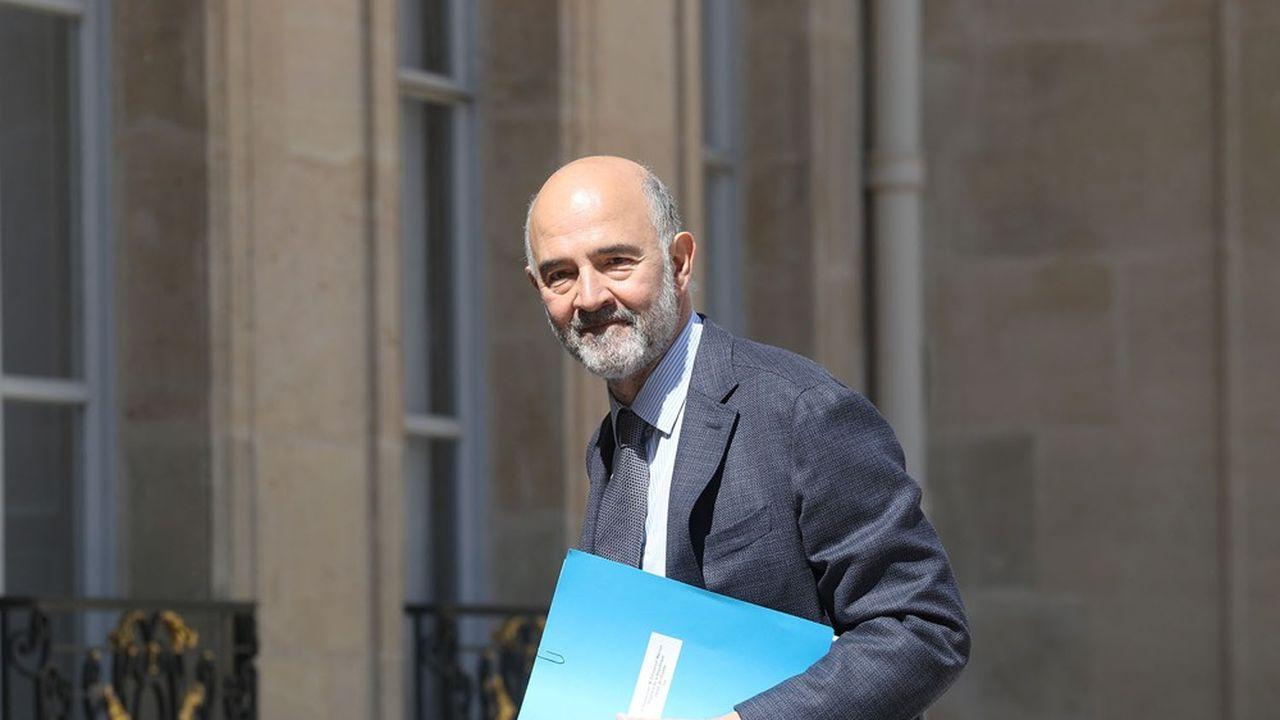 Pierre Moscovici, premier président de la Cour des comptes, insiste sur l'importance de la réforme de la fiscalité mondiale des entreprises pour permettre aux Etats de «reprendre la main».
