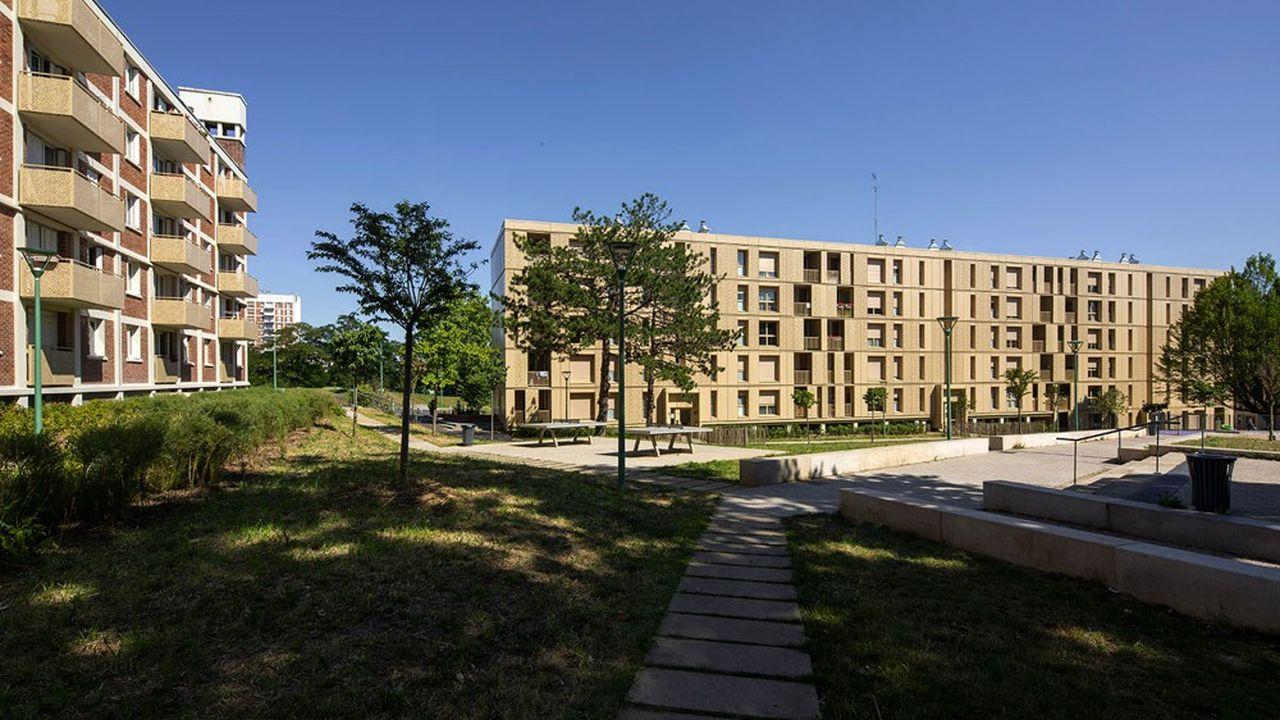 Au total, la Cité comprenait avant restauration 1.400 logements sociaux sur treize hectares.