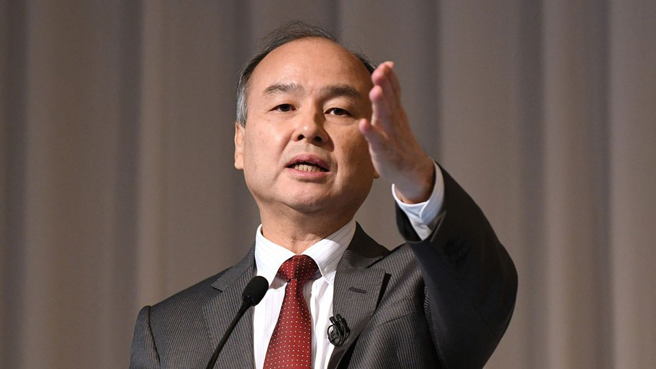 Masayoshi Son le président de Softbank