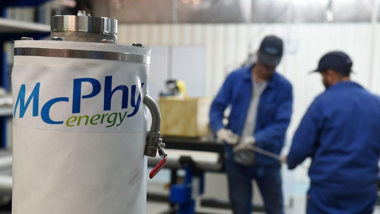 L'objectif de McPhy est de produire des électrolyseurs à grande échelle.