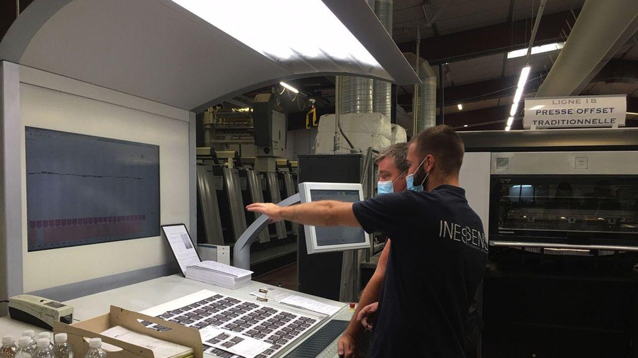 Parmi les projets innovants de l'entreprise, celui d'élaborer à Grasse une étiquette «reproduisant l'arôme du produit».