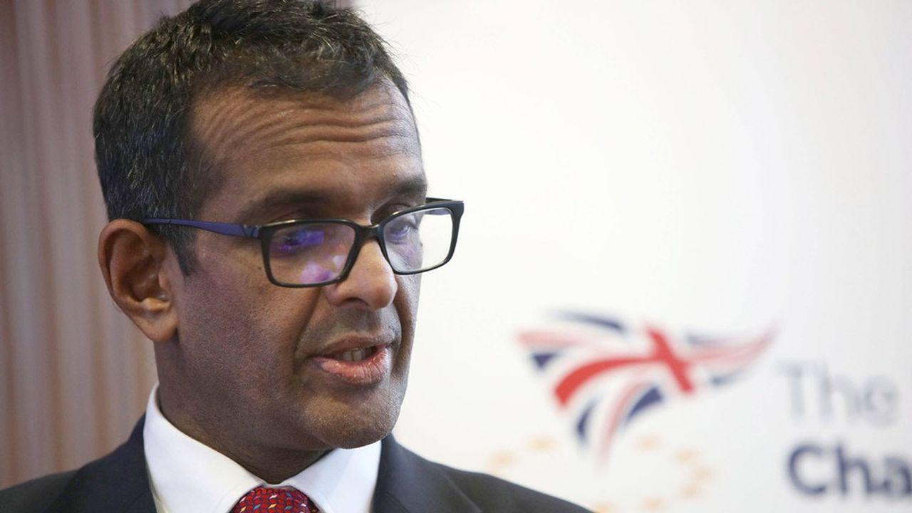 Le Professeur Anand Menon du King's College à Londres.