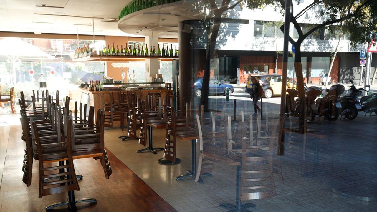 Les bars et restaurants seront fermés en Catalogne durant 15 jours.