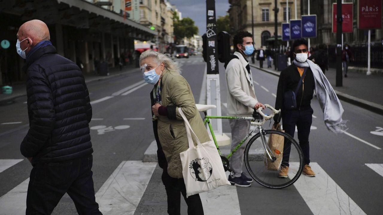 Dans la capitale, les contaminations se sont accélérées.