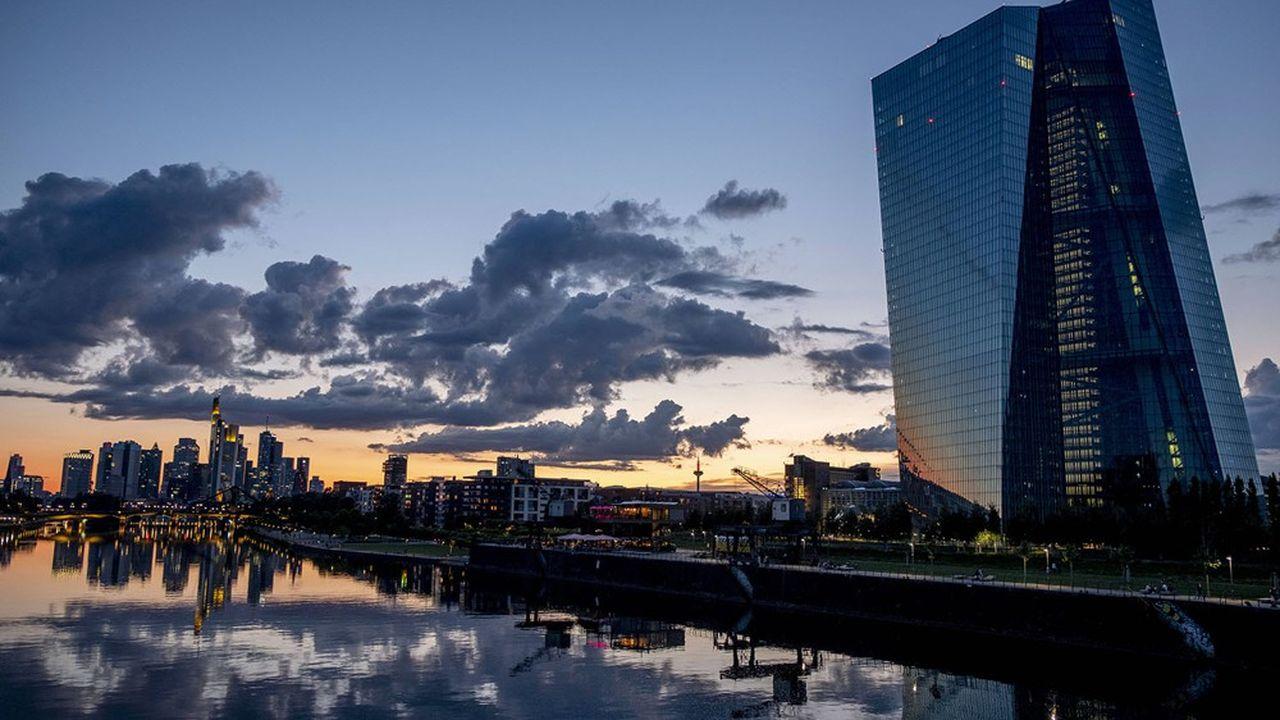 Le siège de la Banque centrale européenne (BCE) à Francfort