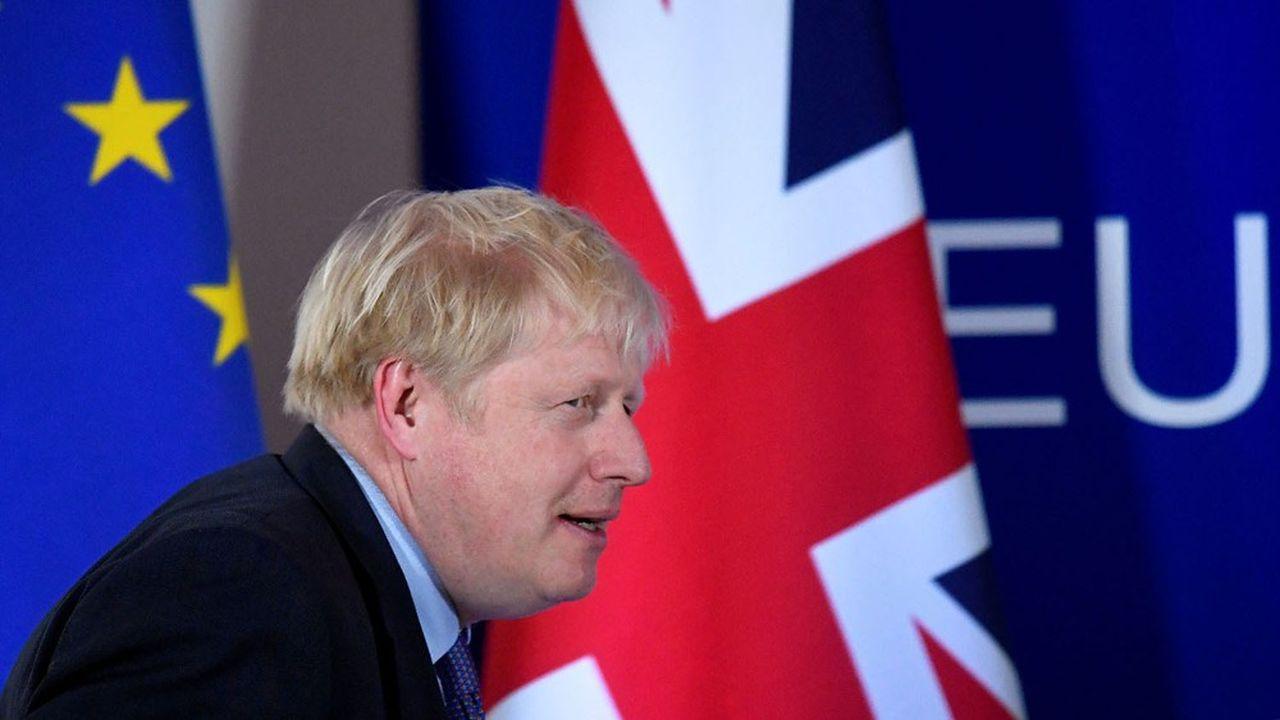 Boris Johnson, le Premier ministre britannique, estimait nécessaire de trouver un compromis à la mi-octobre.