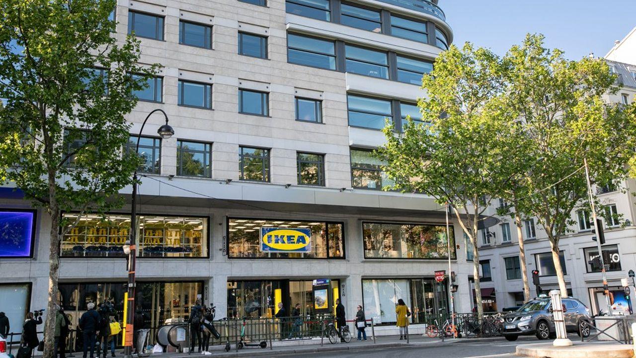 Le magasin Ikea de la place de la Madeleine, au centre de Paris, sera rebaptisé «Ikea City».