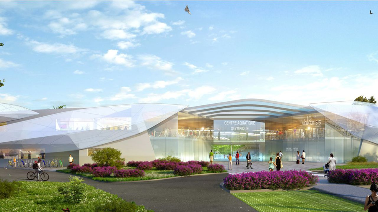 L'architecte Jacques Rougerie a conçu le futur centre aquatique olympique, situé entre Taverny et Saint-Leu La Forêt.