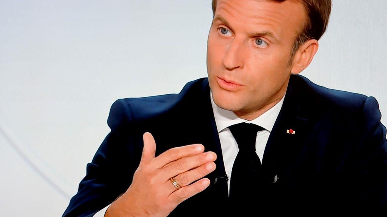 S'exprimant mercredi soir à la télévision, Emmanuel Macron a appelé les Français à se « remobiliser » face à la recrudescence de l'épidémie.
