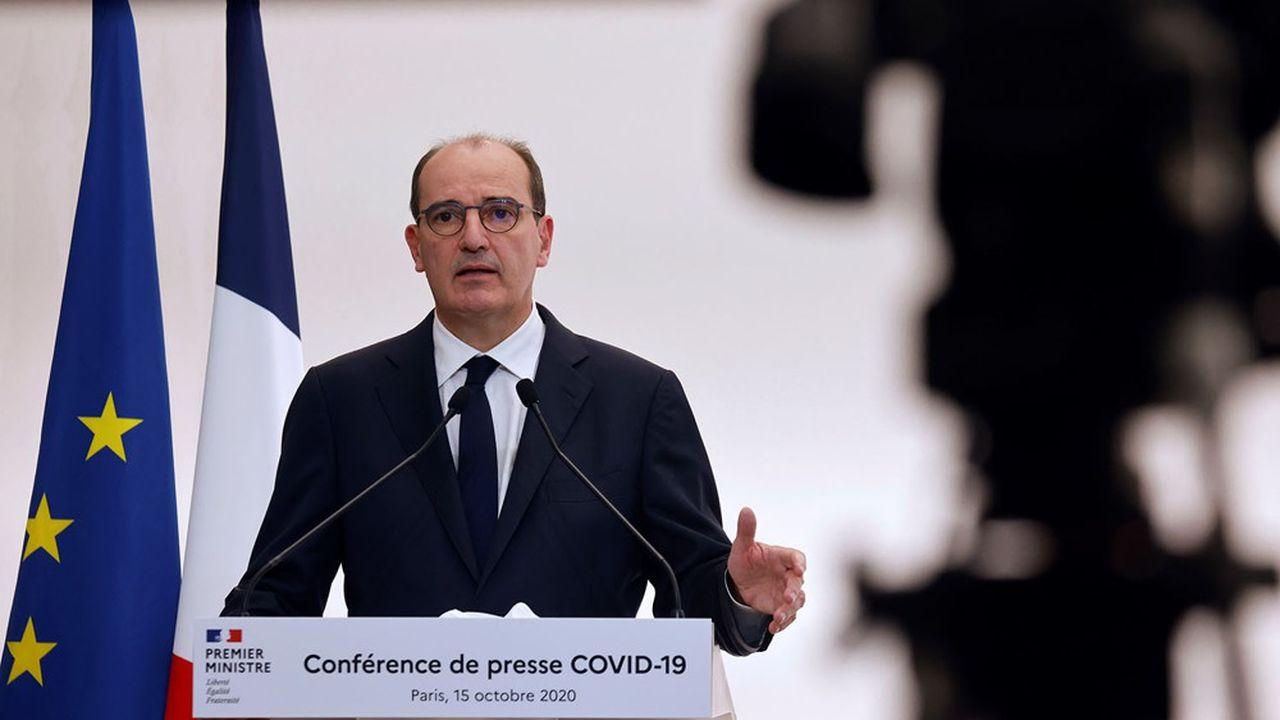 Le Premier ministre, Jean Castex, a reconnu ce jeudi que les nouvelles mesures posaient la question de leur «acceptabilité».