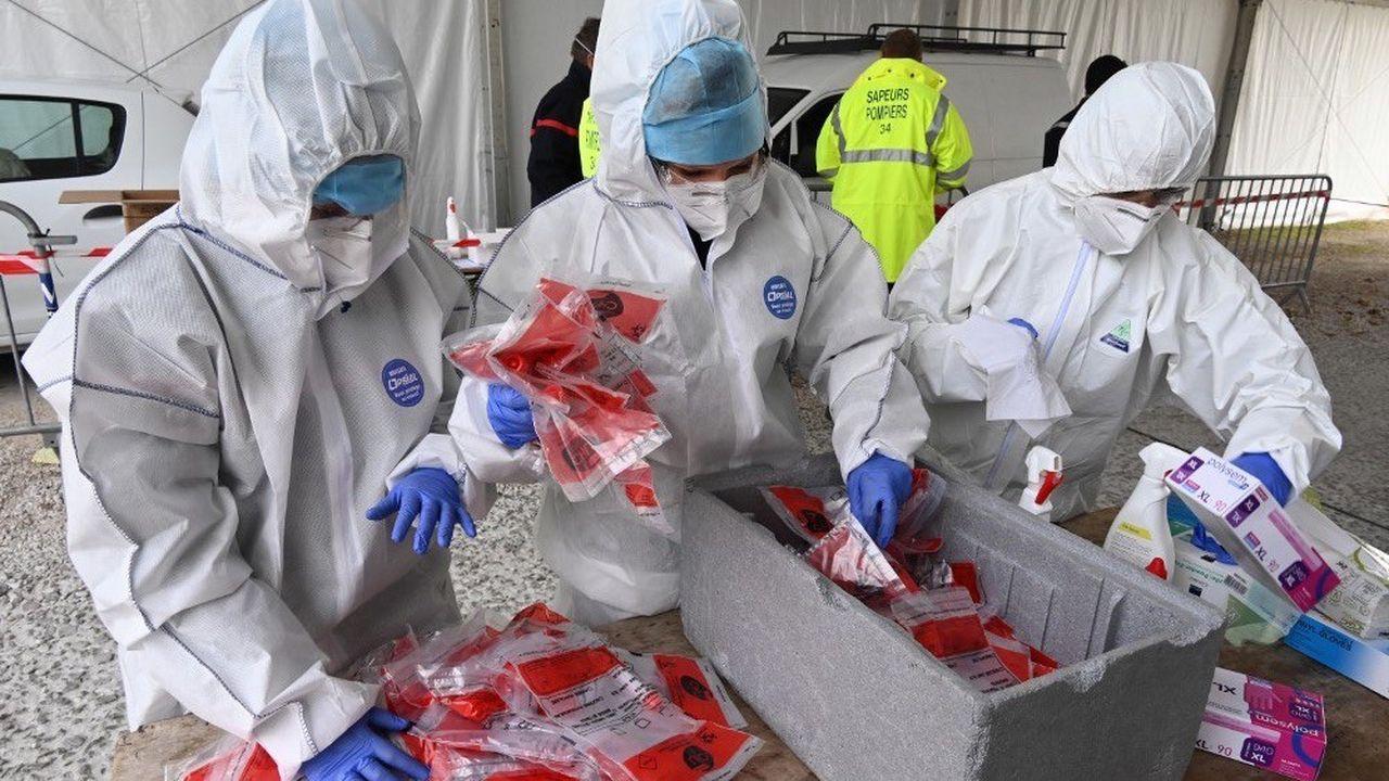 Le nombre de nouveaux cas quotidiens a franchi pour la première fois le cap des 30.000 en France.