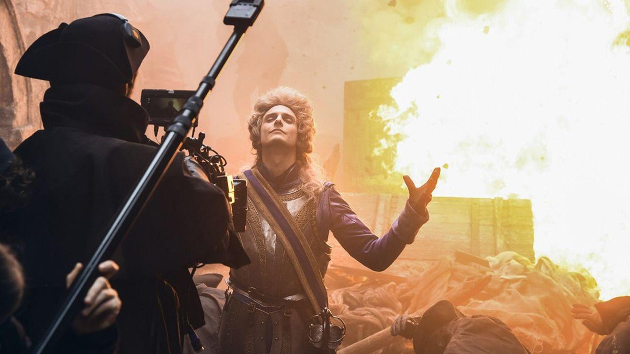 Sur le tournage de la nouvelle série de Netflix «La Révolution».