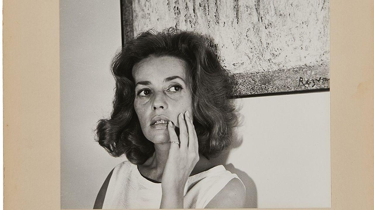 Jeanne Moreau, vue par Cecil Beaton, 1960.