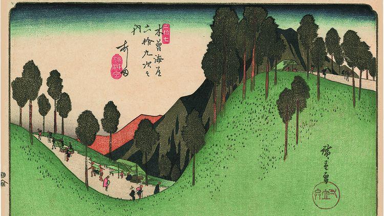 Estampe d'Utagawa Hiroshige.