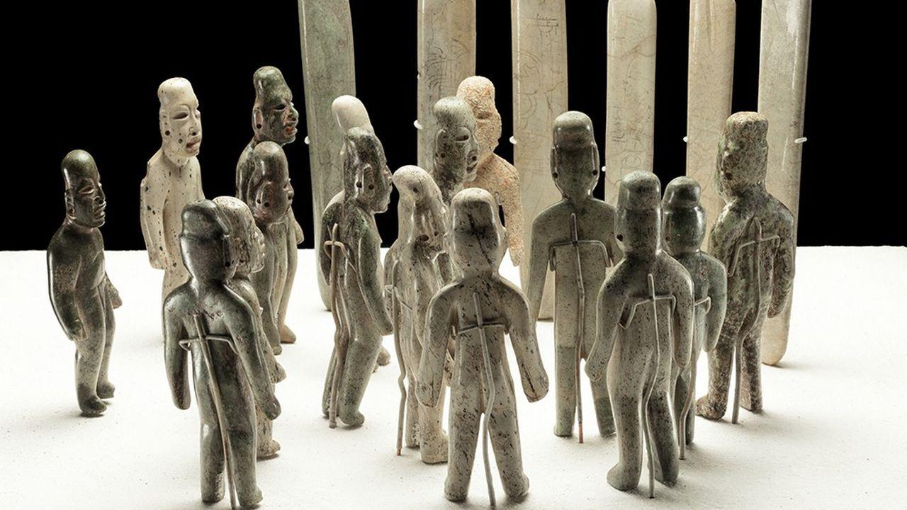 Expo: le fascinant mystère olmèque au Quai Branly | Les Echos