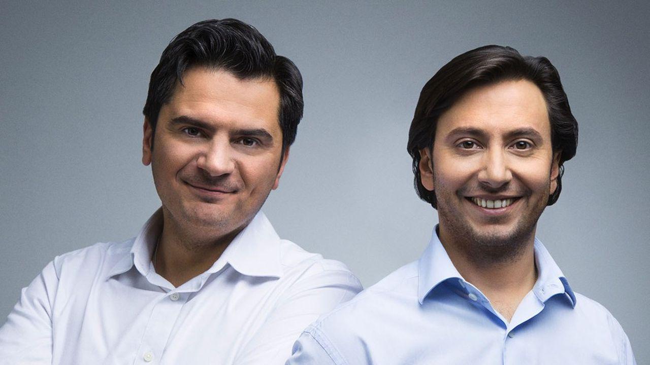 Olivier Boutboul et Stanislas Llurens, cofondateurs d'Auto-école.net