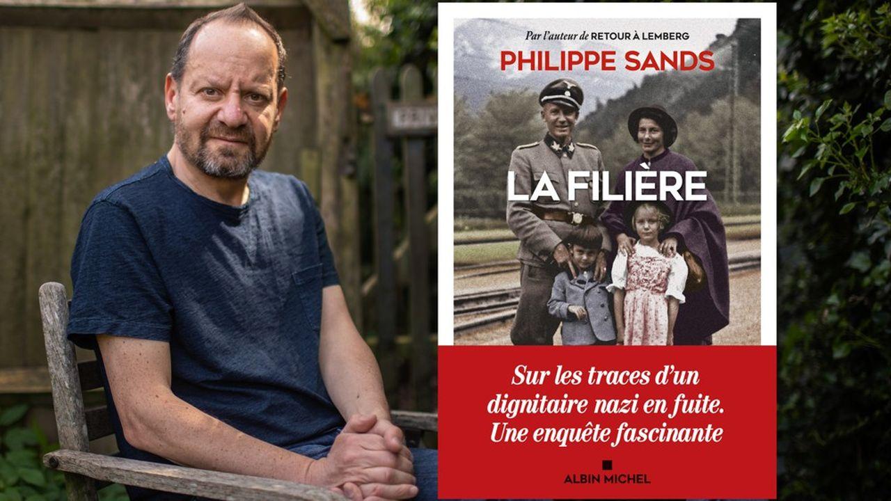 Trois ans après «Retour à Lemberg», best-seller aux nombreux prix, Philippe Sands publie «La filière».