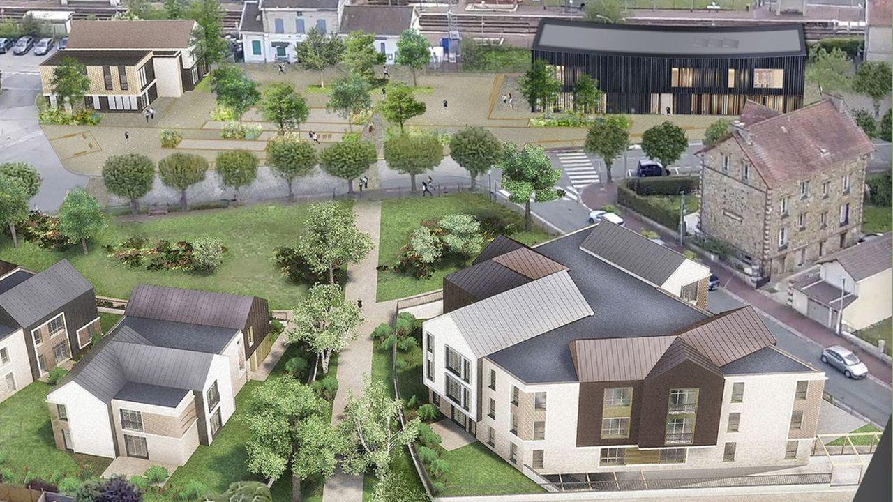 Le projet de la mairie de Presles (95) prévoit la création d'une maison médicale, d'un centre culturel et d'une trentaine de logements.