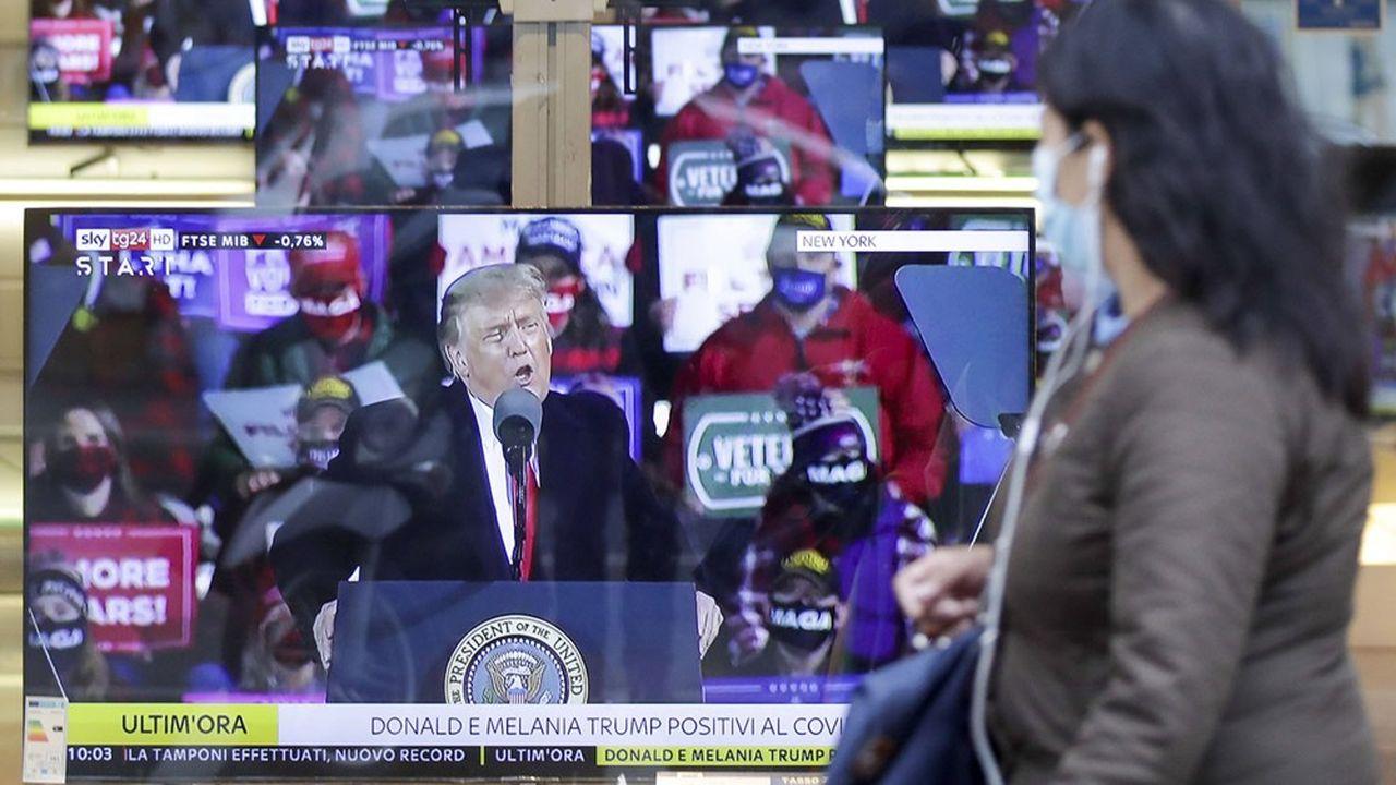 Dans plusieurs Etats, Donald Trump joue la carte du terrain, plutôt que de la publicité.