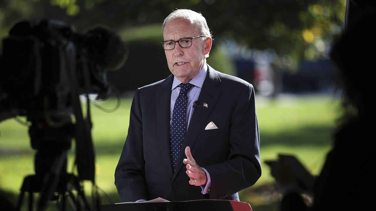 Larry Kudlow, un des conseillers économiques de la Maison-Blanche, est au coeur d'une nouvelle polémique avec les grandes firmes de Wall Street