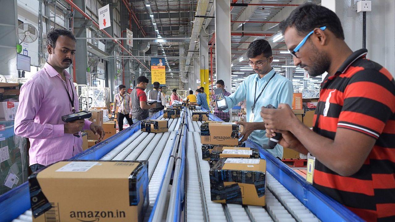 Employés d'Amazonà Bangalore