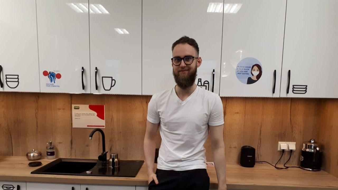A 24 ans, il est aujourd'hui business transformation analyst chez CapGemini, à Cracovie.