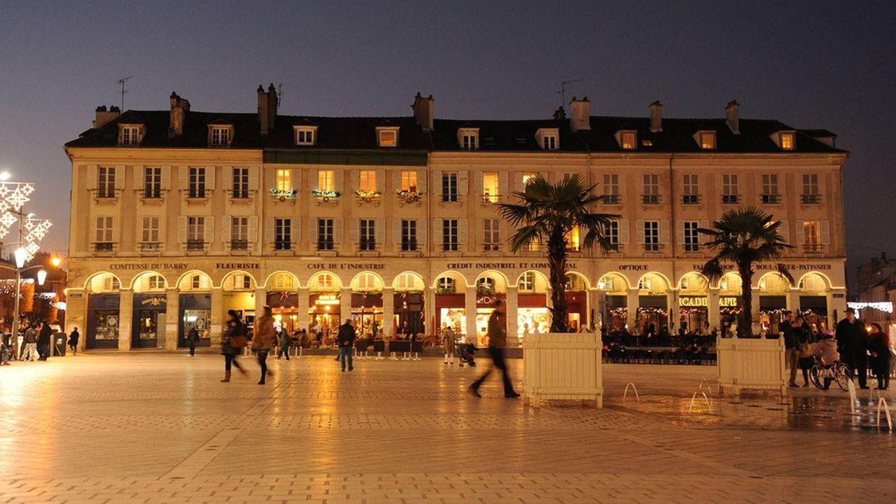 Le centre-ville de St-Germain.