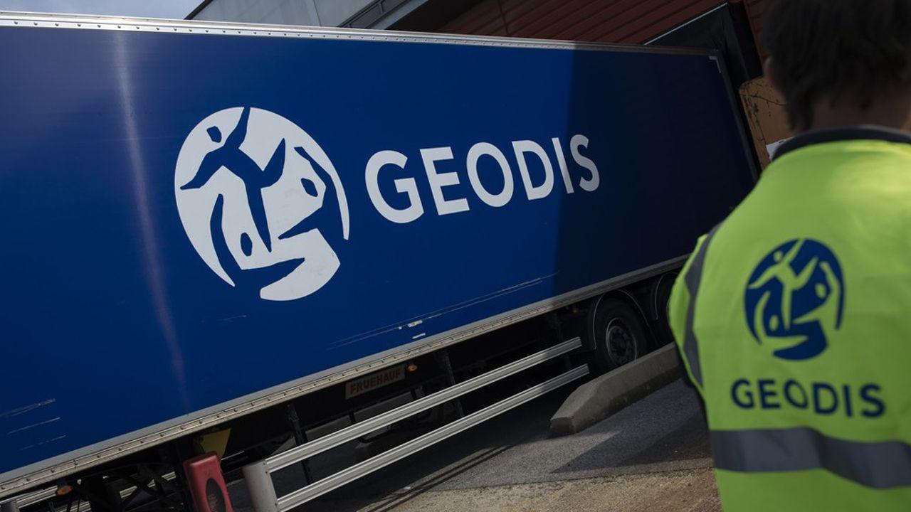 Numéro six européen de la logistique, Geodis compte 5 métiers différents, dont le transport routier de marchandises