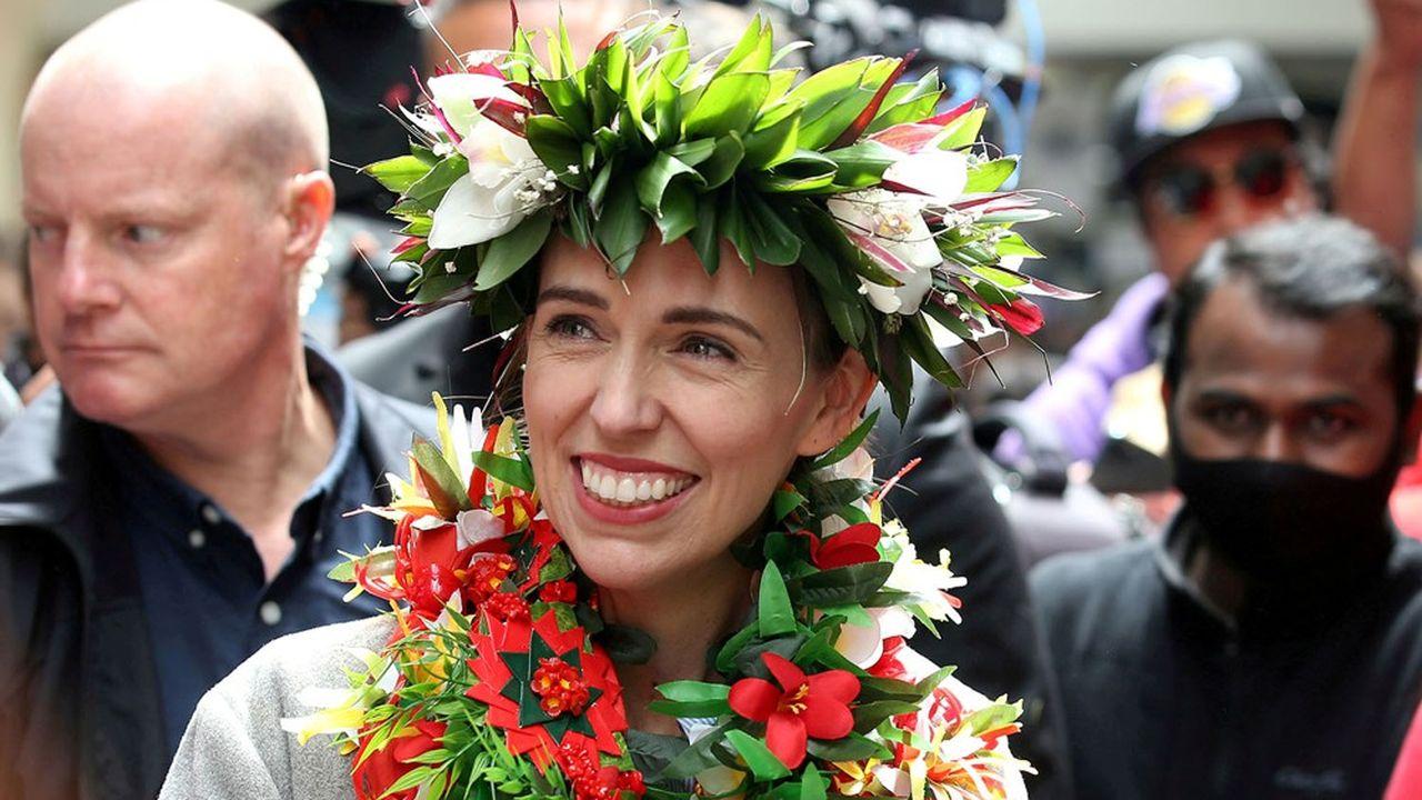 Voie royale pour la très populaire Première ministre néo-zélandaise Jacinda Ardern, qui a fêté ses 40 ans en juillet.