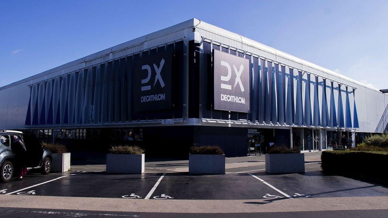 Ce magasin concept entièrement consacré à des tests est implanté à côté de Campus, le navire amiral de l'enseigne à Villeneuve d'Ascq.