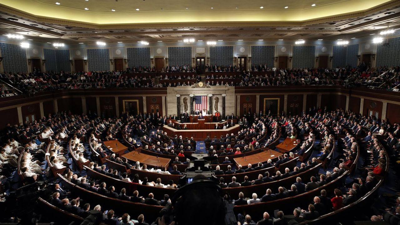 Le discours de Donald Trump sur l'état de l'Union au Congrès, en février dernier.