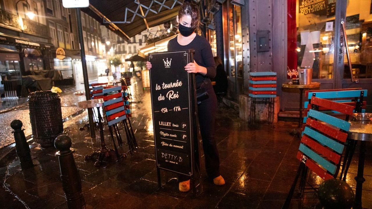 Comme à Barcelone, les restaurants et les cafés vont fermer en Belgique.