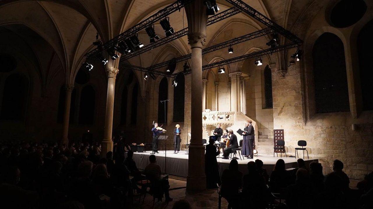 Royaumont a maintenu son festival, dans une version allégée, et mis tous ses concerts à 10euros.