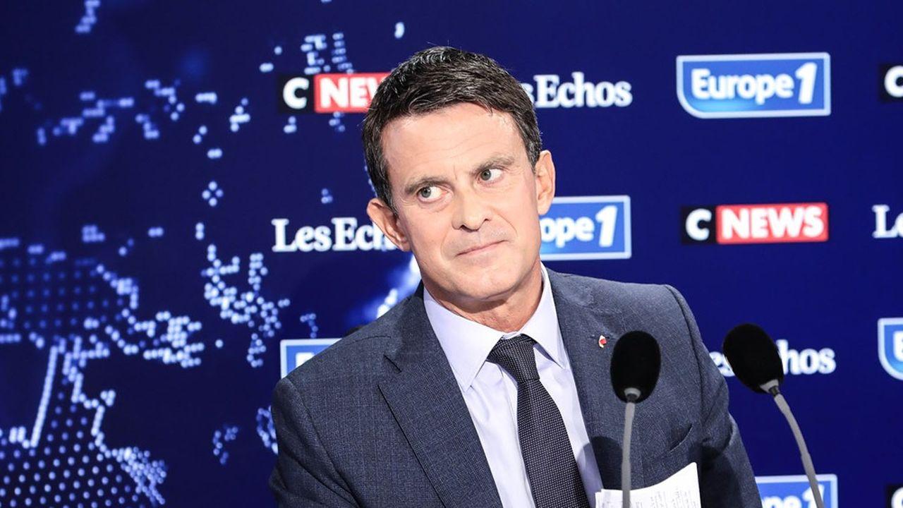 Manuel Valls, ancien Premier ministre et actuel conseiller municipal de Barcelone, était le premier invité du Grand Rendez-vous ce dimanche.