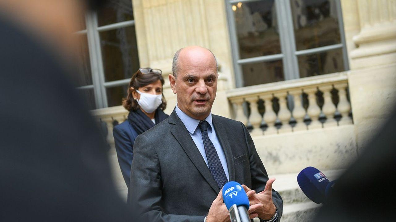 «Il faut désinhiber et vaincre la peur», plaide le ministre de l'Education nationale, Jean-Michel Blanquer