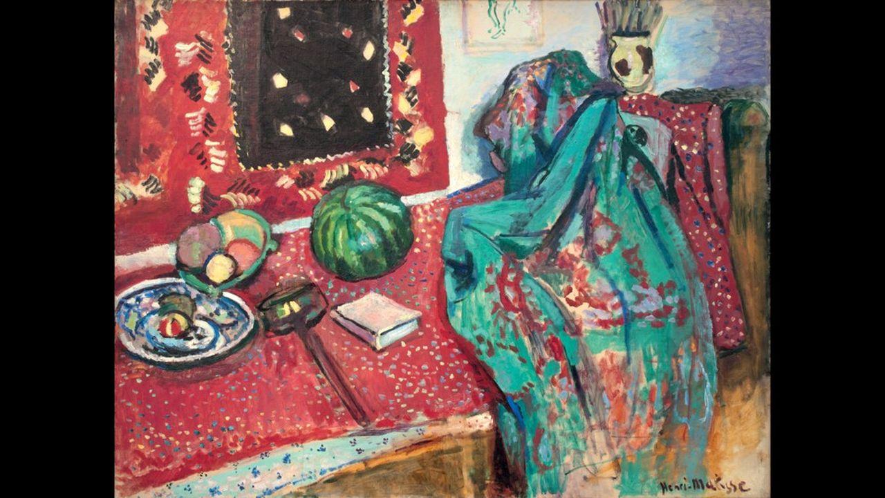 Henri Matisse « Les Tapis rouges», 1906 Huile sur toile