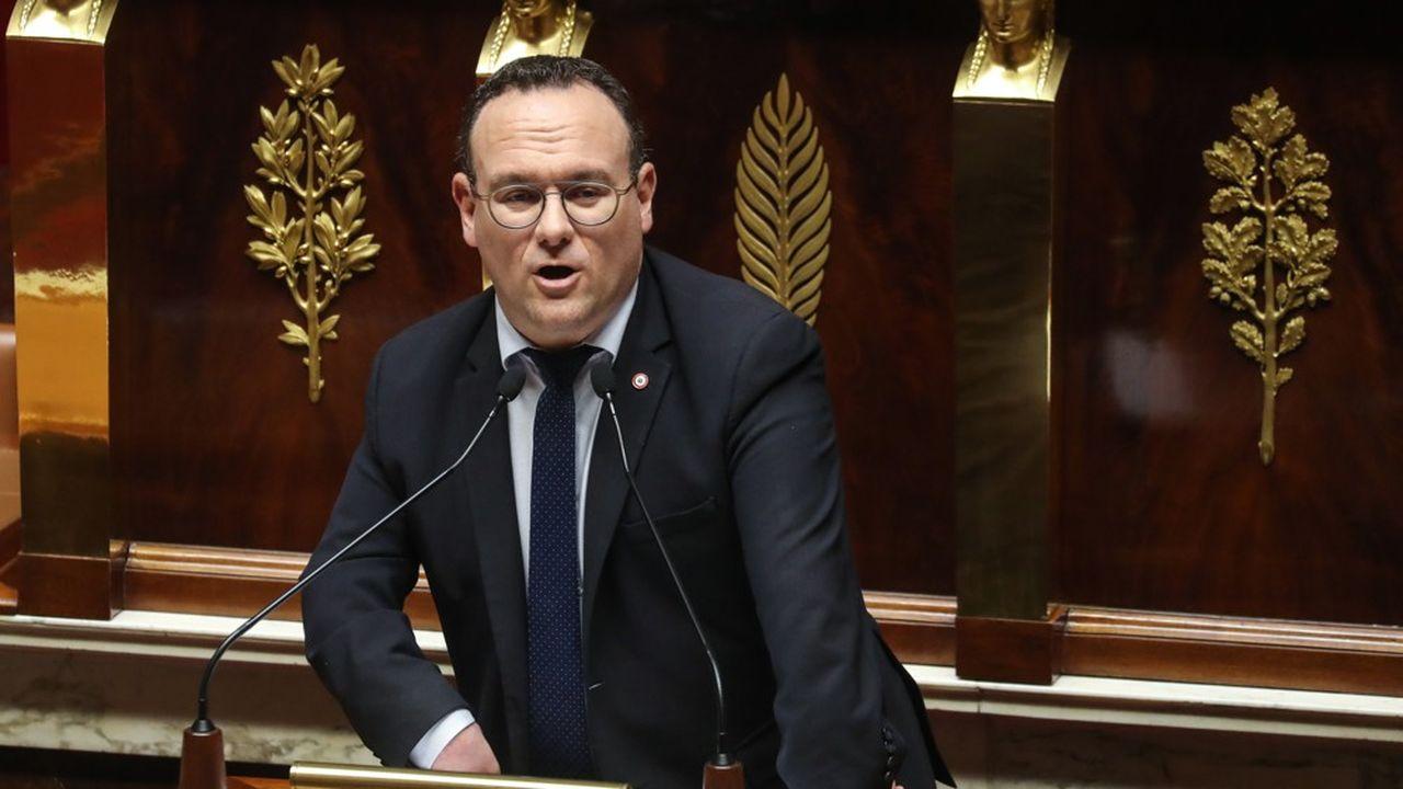 Damien Abad est le patron des députés LR à l'Assemblée nationale.
