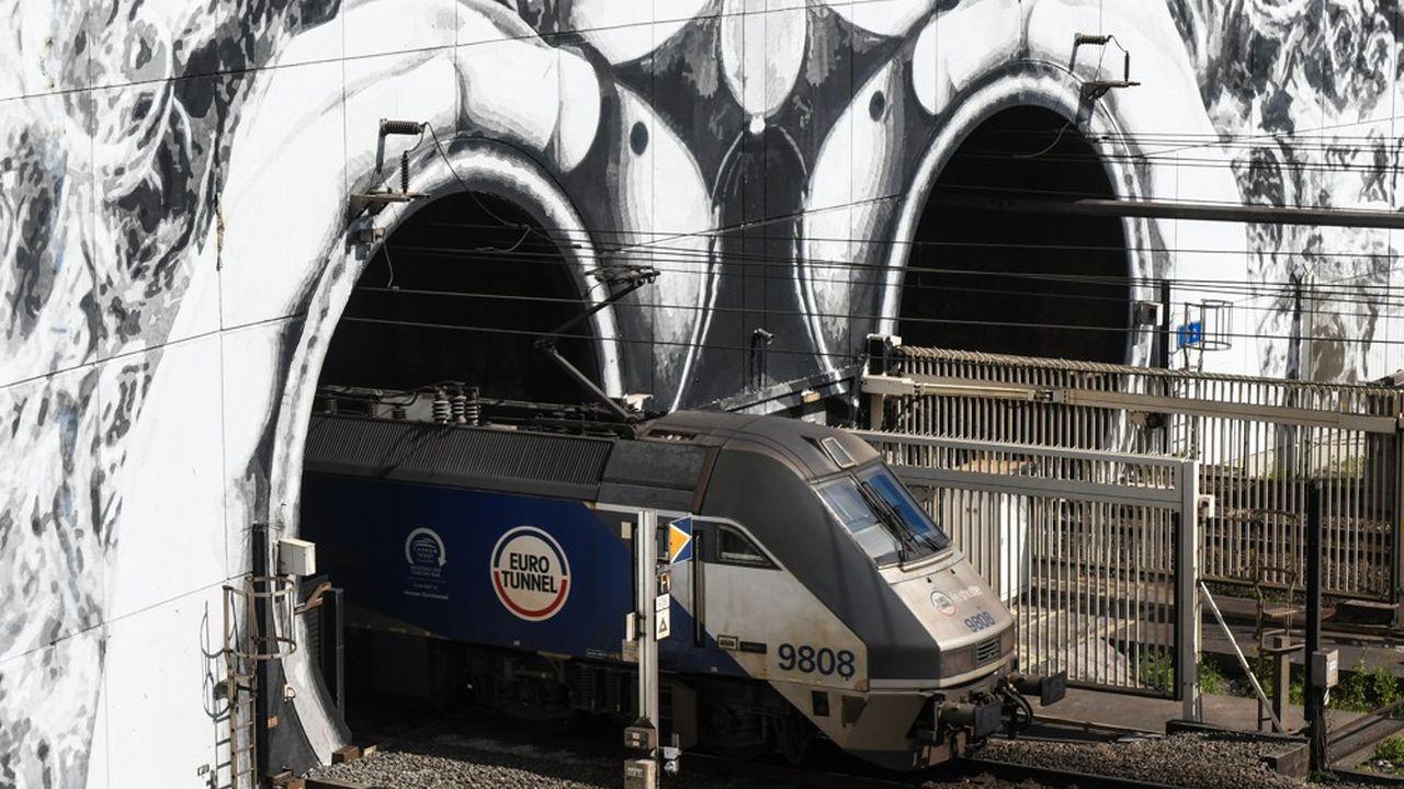 Le nombre de passagers a plongé dans le tunnel sous la Manche depuis le début de la crise sanitaire.