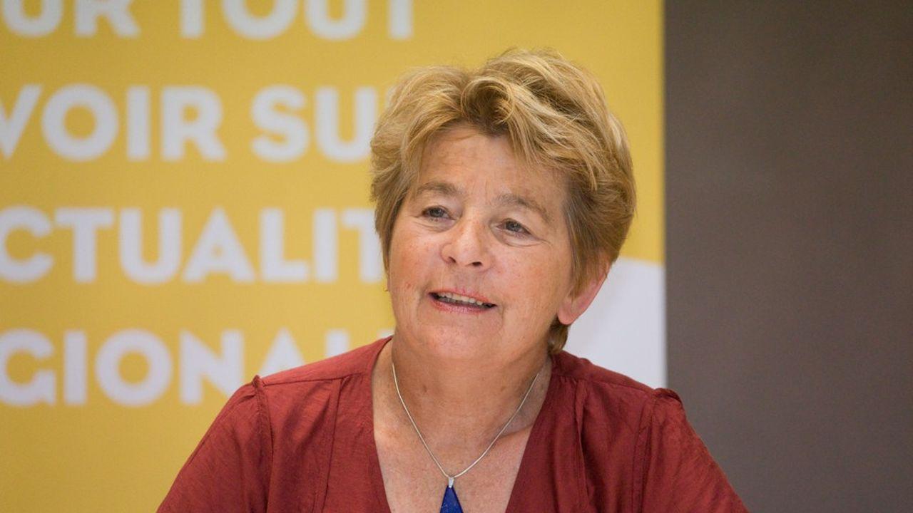 Marie-Guite Dufay, présidente PS de Bourgogne-Franche-Comté, veut porter les efforts sur l'emploi et le pouvoir d'achat.