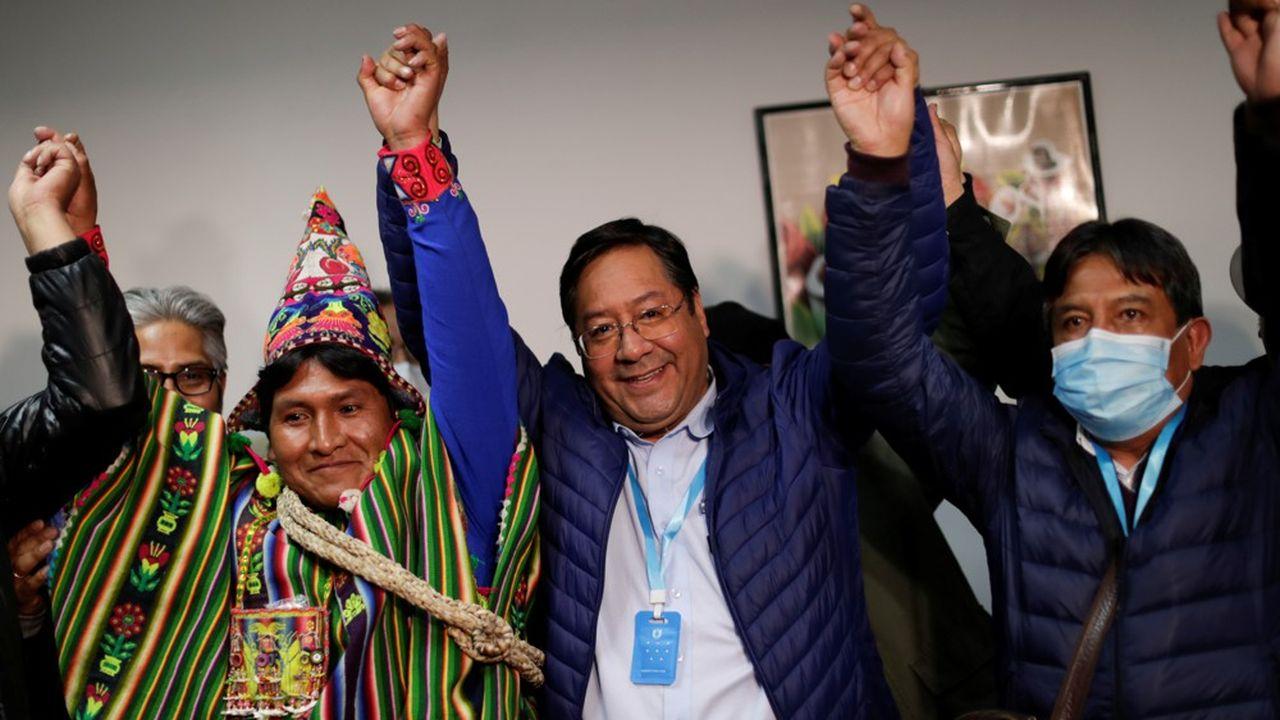 Luis Arce, le candidat de la gauche et dauphin de l'ancien chef de l'Etat Evo Morales.