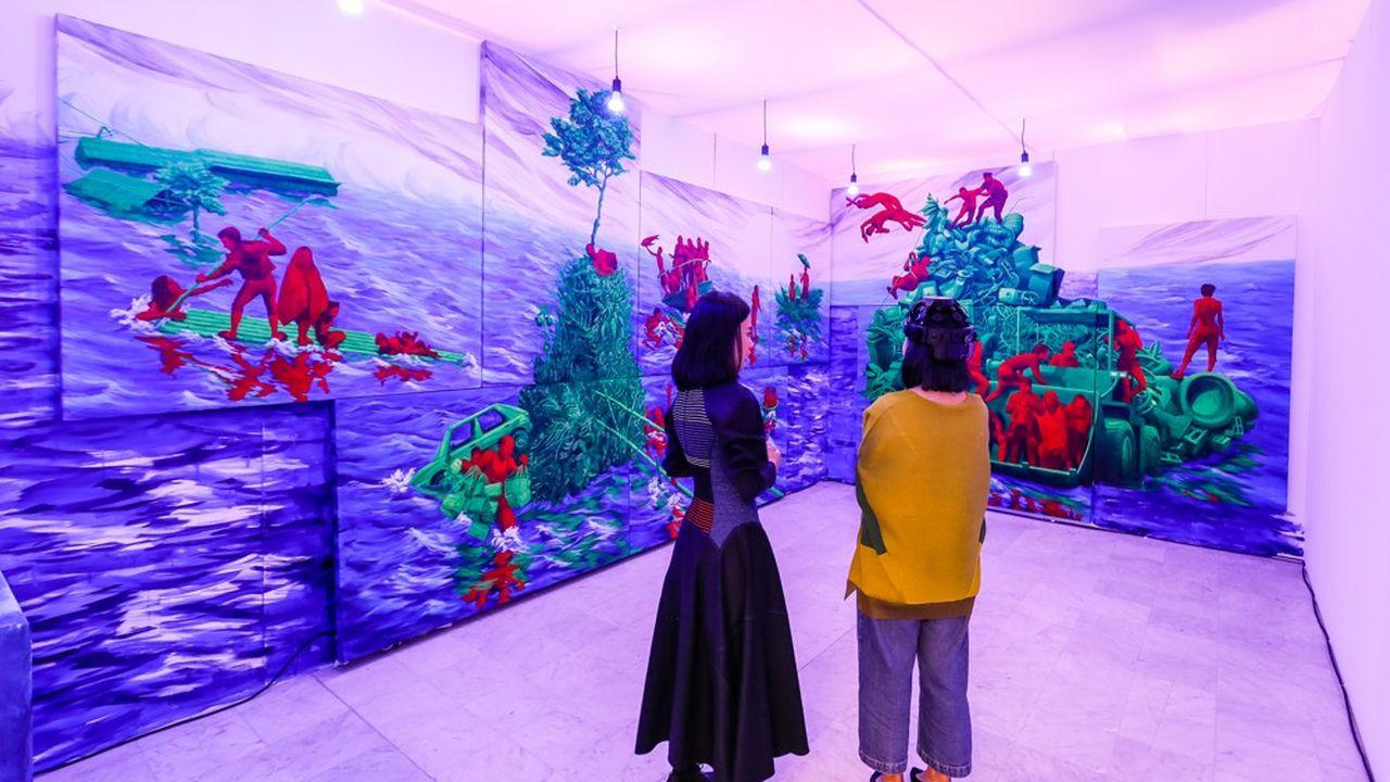La foire «off» Asia Now, à laquelle s'associe le Musée Guimet, est l'une des grandes gagnantes de l'annulation de la FIAC.