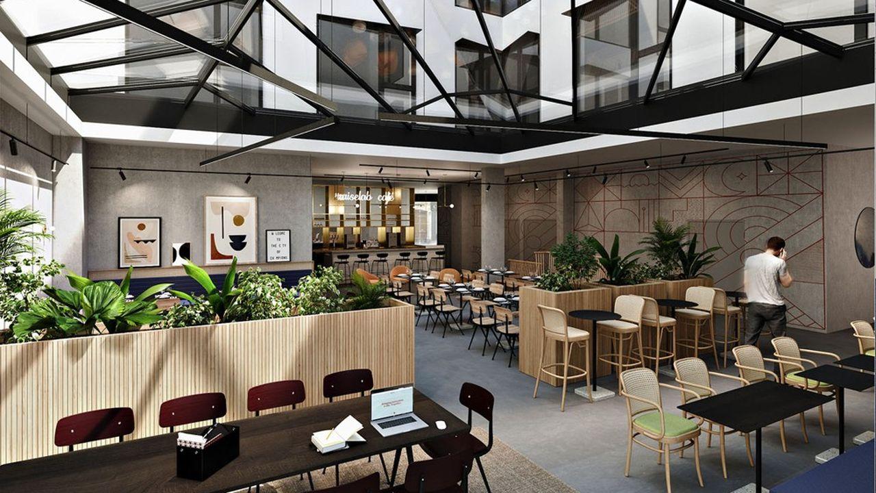 L'espace de 2.500 mètres carrés s'étire sur huit niveaux en plein centre de Paris, place de la République. Il ouvrira le 1erfévrier prochain.