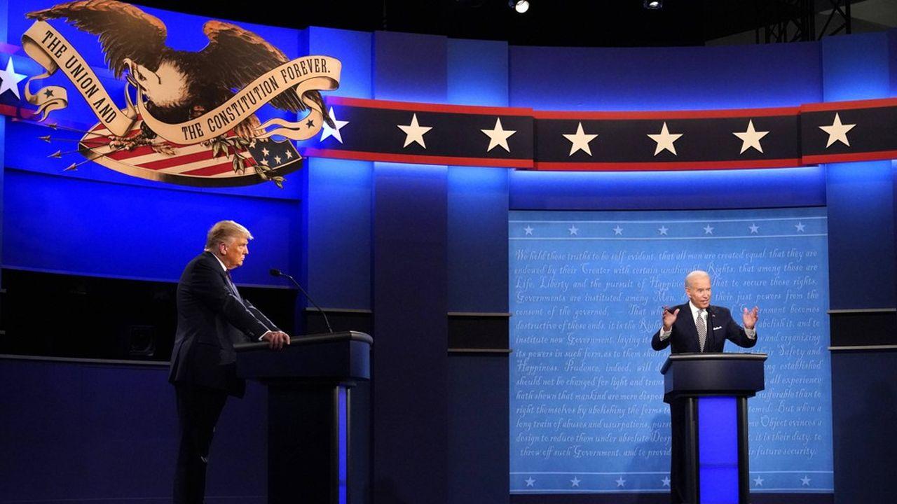 Donald Trump et Joe Biden avaient déjà croisé le fer, le 29septembre, lors d'un débat très animé.
