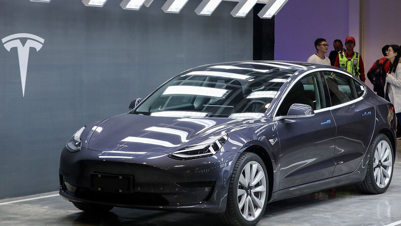 La «Model 3» que Tesla va exporter en Europe est actuellement vendue 40.300dollars en Chine.