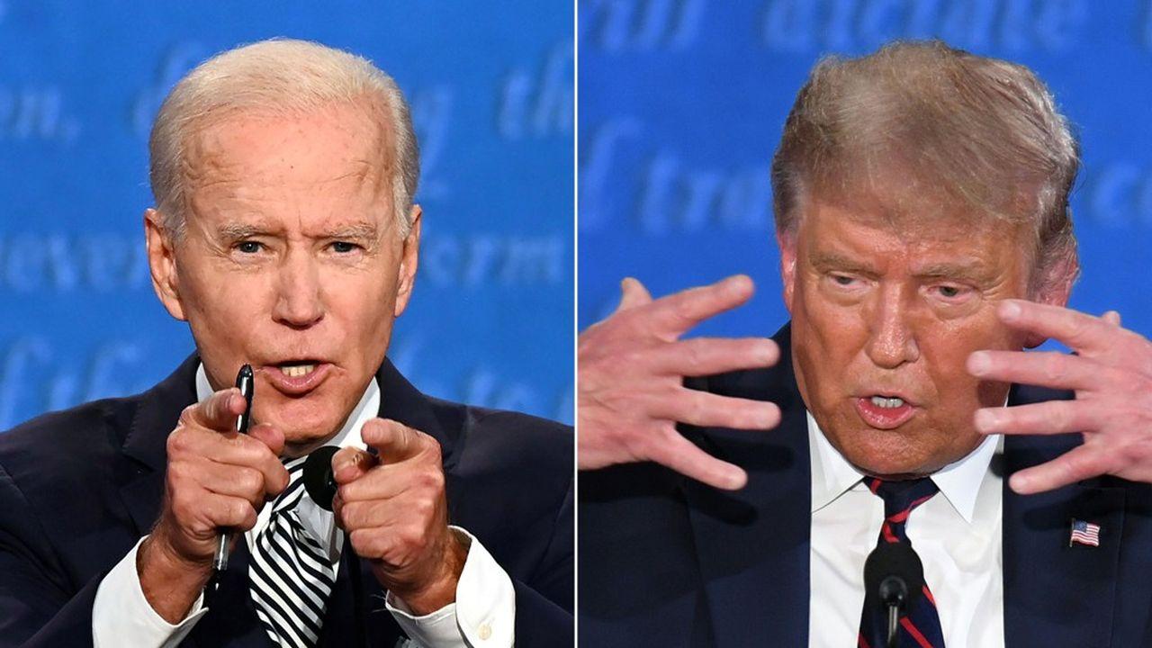 Joe Biden a dépensé 484millions de dollars et Donald Trump 456.