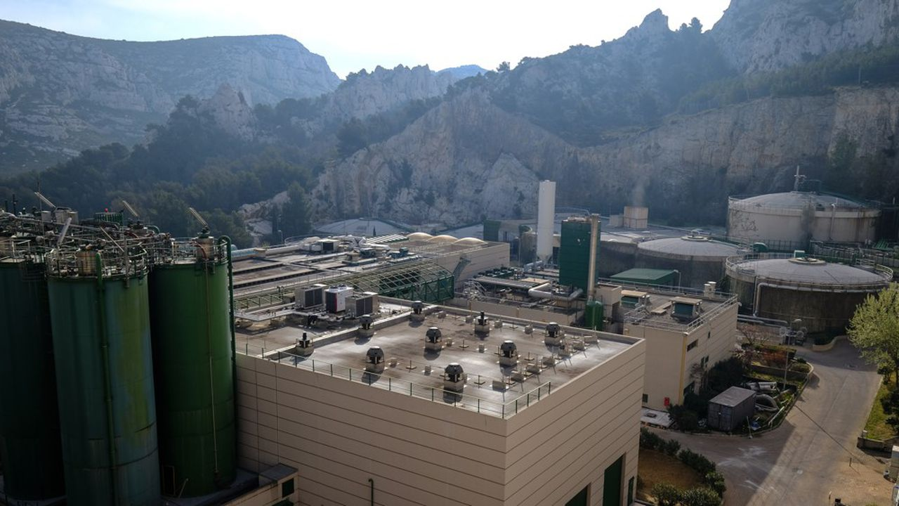 Production de biométhane à Sormiou, près de Marseille. L'exonération fiscale «ne constitue pas un soutien efficace à la filière», soutient le ministère de la Transition écologique.